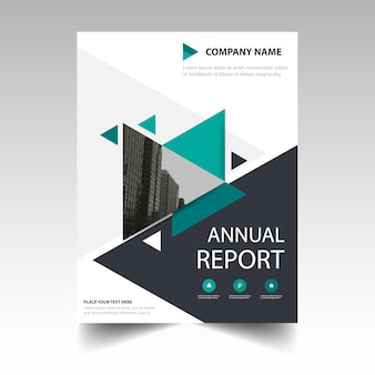 Portada de reportaje anual