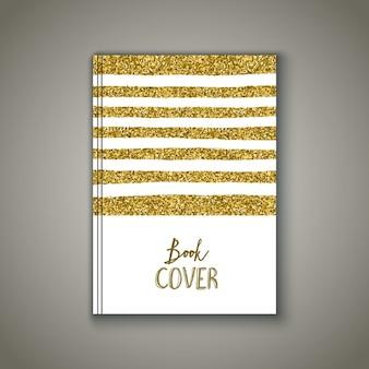 Portada del libro con un diseño brillante dorado