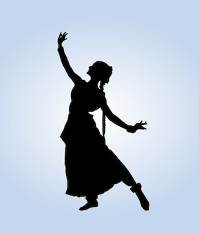 Pose de baile indio