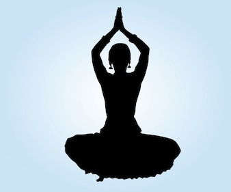 Posición del loto de bailarina india