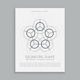 Póster de círculos sagrados