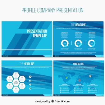 Presentaciones abstractas corporativas