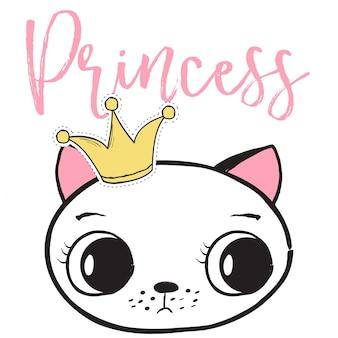 Princesa gato backround