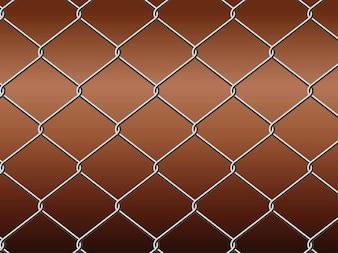 Prisión metálica sin patrón
