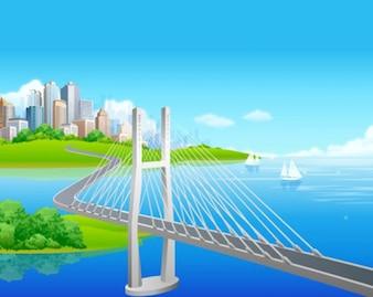 puente para la ciudad