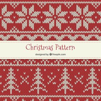 Punto de cruz patrón de Navidad