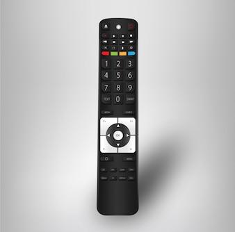 """Tv remote vector template"""