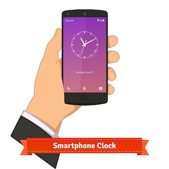 Reloj del smartphone