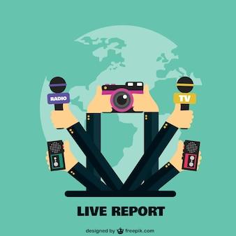Reportaje en vivo