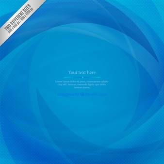 Resumen de antecedentes olas en tonos azules