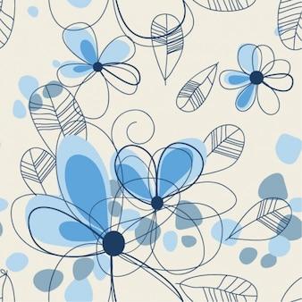 Resumen de verano floral conjunto de vectores de fondo