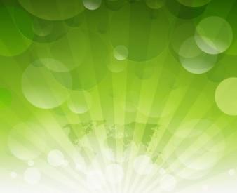 Resumen fondo verde