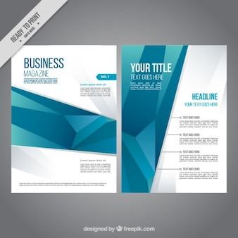 Revista de negocios geométrica