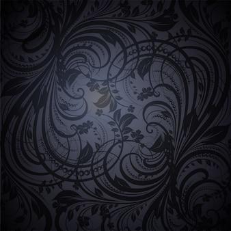 Riqueza swirly fondo renacimiento rococó
