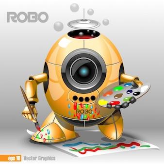 Robot artista