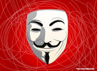 rostro anónimo