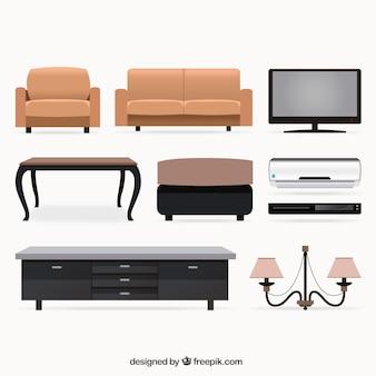 Salón colección de muebles