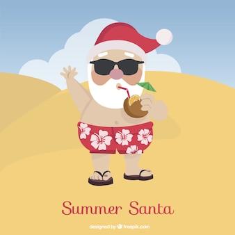 Santa de verano