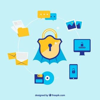 Seguridad integral para todos los dispositivos con diseño plano