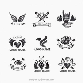 Selección de logotipos de tatuajes