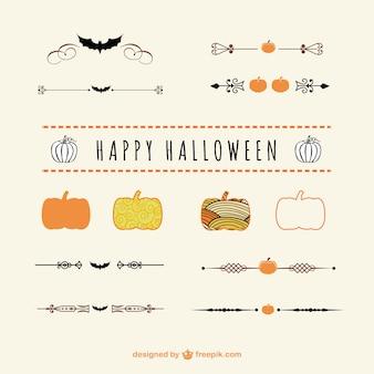 Separadores y adornos de Halloween