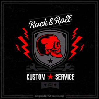 Servicio personalizado rock and roll