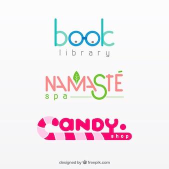 Set de creativos logotipos