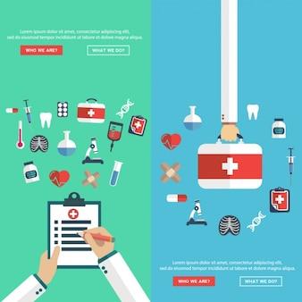 Set de diseños médicos