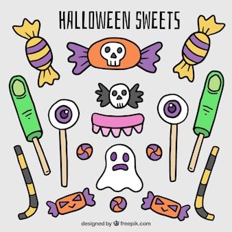 Set de dulces de halloween