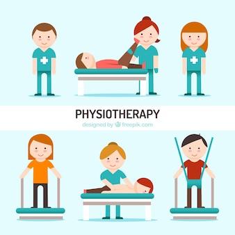 Set de fisioterapia