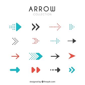 Set de flechas modernas