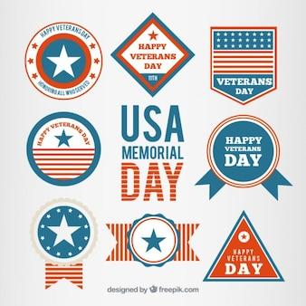 Set de Memorial day de USA