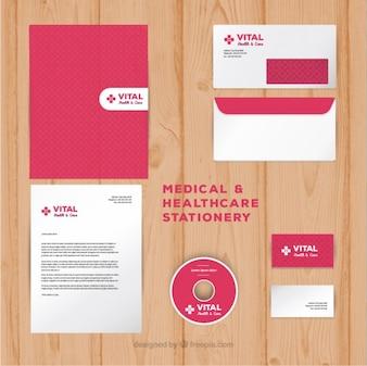 Set de papelería médica
