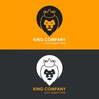 Set de platillas de logos