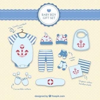 Set de regalo de bebé niño
