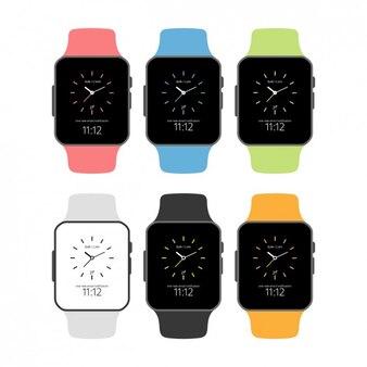 Set de smartwatch planos