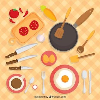 Set Plano de desayuno
