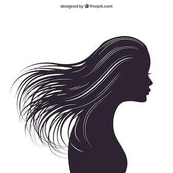 Silueta de la mujer