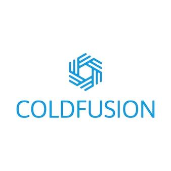Símbolo de fusión fría Logotipo
