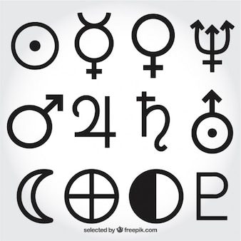 Símbolos del sistema solar