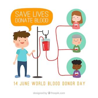 Simpático fondo de donantes