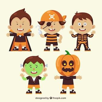 Simpáticos disfraces de halloween