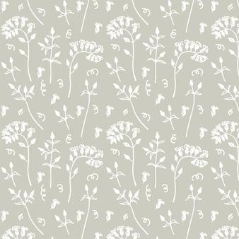 Simple patrón floral