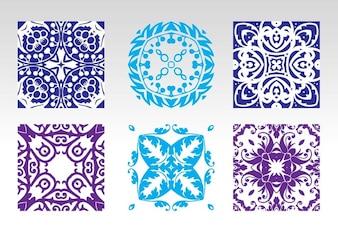 sin azulejos vector patrón