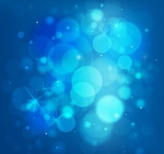 sin luces brillantes azules de vectores de fondo