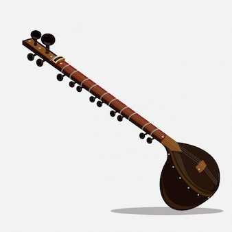Sitar de música india