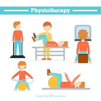 Situaciones de fisioterapia