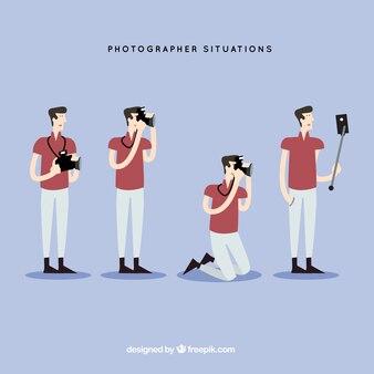 Situaciones de fotógrafo