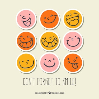 Smiley pegatinas