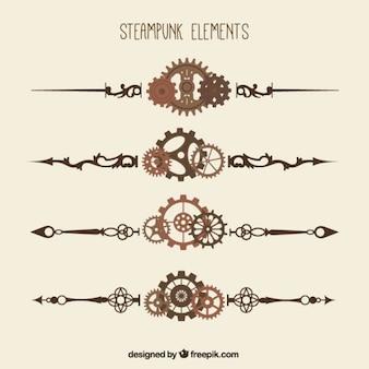 steampunk establecen fronteras